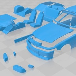 Download 3D printer model M3 E36 1992 Printable Car, hora80