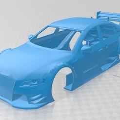 foto 1.jpg Télécharger fichier STL Carrosserie A4 DTM imprimable • Objet imprimable en 3D, hora80