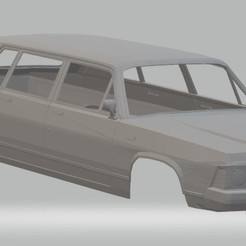 foto 1.jpg Download STL file GAZ 14 Printable Body Car • 3D print model, hora80