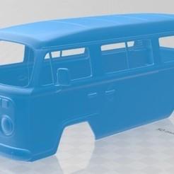 foto 1.jpg Download STL file 2012 Volkswagen Kombi Printable Body Van • 3D printing template, hora80