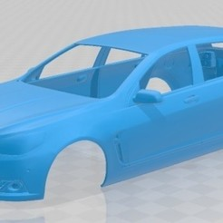 foto 1.jpg Download STL file Holden VF Commodore Calais V Sportwagon 2013 Printable Body Car • 3D printable template, hora80