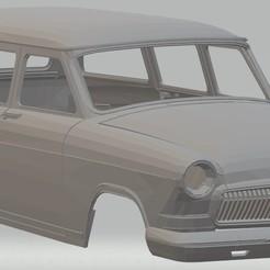 Impresiones 3D Volga Gaz M22 Printable Body Car, hora80