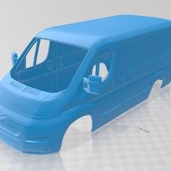 Descargar STL Citroen Jumpy Printable Body Van, hora80
