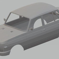 foto 1.jpg Download STL file Wartburg 353 Printable Body Car • Template to 3D print, hora80