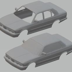 Descargar modelos 3D para imprimir 528E E28 Printable Body Car, hora80