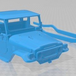 foto 1.jpg Download STL file Toyota Land Cruiser Pickup 1979 Printable Body Car • 3D printable model, hora80