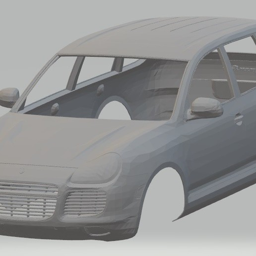 Download 3D model Cayenne Printable Body Car, hora80