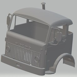 Download 3D printer templates Volvo F86 Printable Cabin Truck, hora80