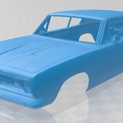 Descargar modelo 3D Plymouth Barracuda 1968 Printable Body Car, hora80