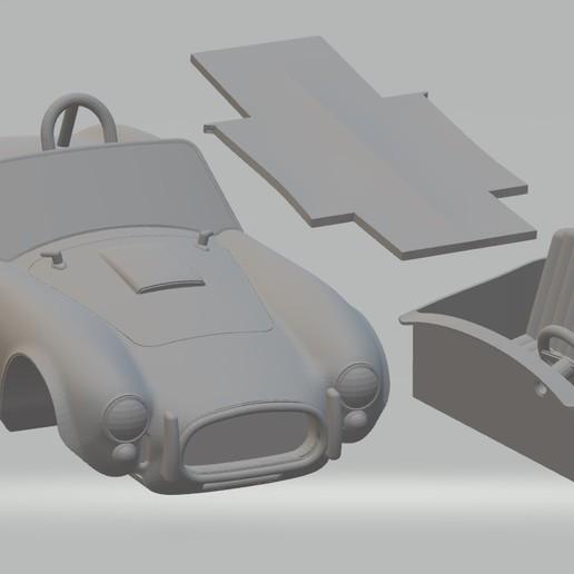 Imprimir en 3D AC Cobra Printable Car, hora80