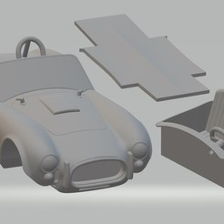 foto 0.jpg Télécharger fichier STL Voiture imprimable AC Cobra • Plan à imprimer en 3D, hora80