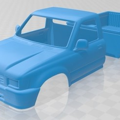 foto 1.jpg Download STL file Toyota Hilux Double Cab 1988 Printable Body Car • Template to 3D print, hora80