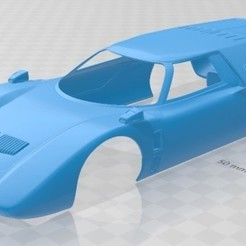 Download STL files Mazda RX-500 1970 Printable Body Car, hora80