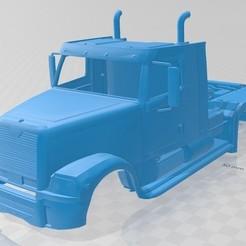 Descargar archivos STL Tractor Trailer Printable Truck, hora80