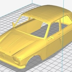 Download 3D printing models Peugeot 204 Printable Body Car, hora80