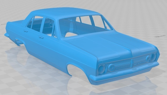 Holden HR Premier 1966-2.jpg Download STL file Holden HR Premier 1966 Printable Body Car • 3D printer template, hora80