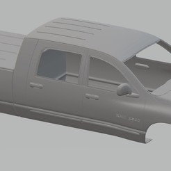 Download 3D printing templates Dodge Ram 2500 Printable Body Truck, hora80