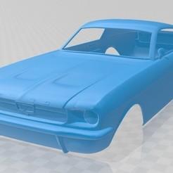 Descargar archivos STL Mustang Fastback 1967 Printable Body Car, hora80