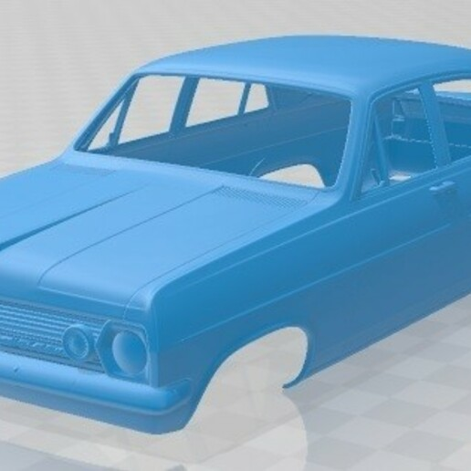 Holden HR Premier 1966-1.jpg Download STL file Holden HR Premier 1966 Printable Body Car • 3D printer template, hora80
