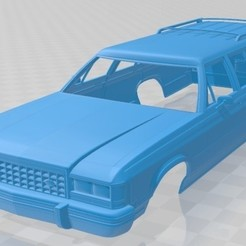 foto 1.jpg Download STL file Country Squire 1986 Printable Body Car • 3D print template, hora80