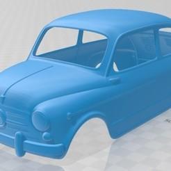 foto 1.jpg Download STL file Fiat 600 D 1960 - Seat 600 Printable Body Car • Object to 3D print, hora80