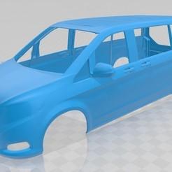 Descargar modelos 3D para imprimir Mercedes Benz V 250 Printable Body Van, hora80