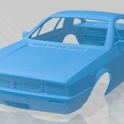 Lancia Montecarlo 1979-1.jpg Download STL file Lancia Montecarlo 1979 Printable Body Car • 3D printer template, hora80