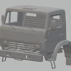 Télécharger fichier 3D Camion à cabine imprimable Kamaz 4310, hora80
