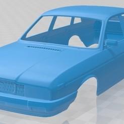 Lancia Gamma Berlina 1976-1.jpg Download STL file Lancia Gamma Saloon 1976 Printable Body Car • Object to 3D print, hora80