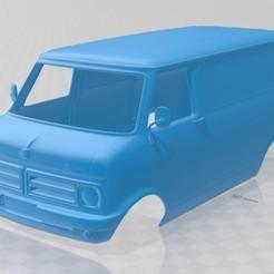 foto 1.jpg Download STL file Bedford CF Minibus 1972 Printable Body Van • 3D printer model, hora80