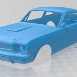 foto 1.jpg Download STL file Mustang 350GT 1969 Printable Body Car • Model to 3D print, hora80