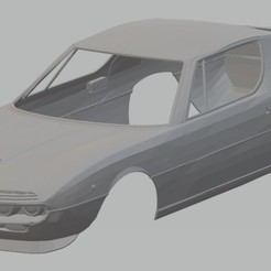 Download 3D printing models Alfa Romeo Montreal 1967 Printable Body Car, hora80