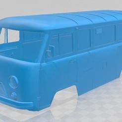 Download 3D print files UAZ 2206 Printable Body Van, hora80