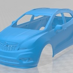 foto 1.jpg Download STL file Opel Mokka 2013 Printable Body Car • 3D printing model, hora80