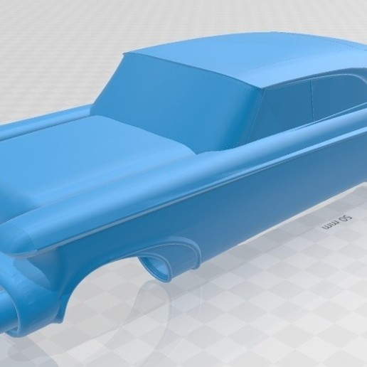 Download 3D printer designs Norseman 1956 Printable Body Car, hora80