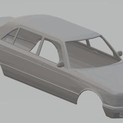 Imprimir en 3D Mercedes Benz W126 Printable Body Car, hora80