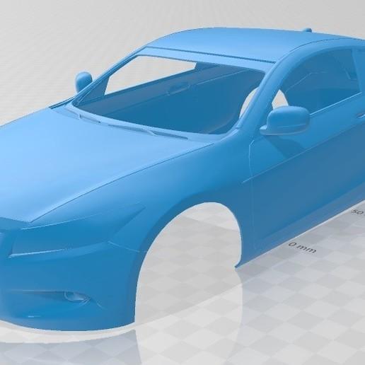 Download STL file Honda Accord Coupe Printable Body Car, hora80
