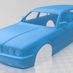 foto 1.jpg Download STL file 5 Series E34 Touring 1991 Printable Body Car • Design to 3D print, hora80