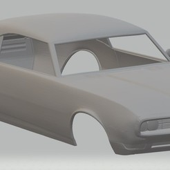 Download 3D model GTO 1969 Printable Body Car, hora80