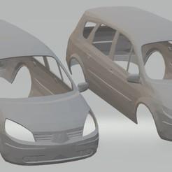 foto 1.jpg Download STL file Renault Scenic Printable Body Car • 3D printer model, hora80