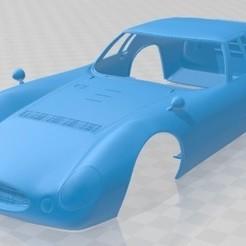 Maserati Tipo - 1.jpg Télécharger fichier STL Carrosserie imprimable Maserati Type de voiture • Modèle à imprimer en 3D, hora80