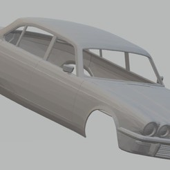 Descargar archivos STL Jaguar XJ6 Sedan Printable Body Car, hora80