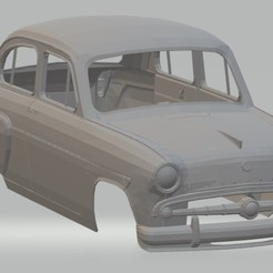 Imprimir en 3D Moskvitch 407 Printable Body car, hora80