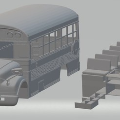Impresiones 3D School Bus Printable, hora80