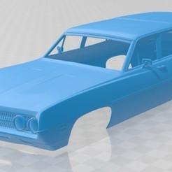 foto 1.jpg Download STL file Torino 500 Wagon 1971 Printable Body Car • Object to 3D print, hora80