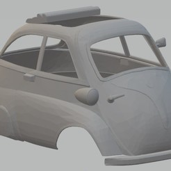Descargar archivo 3D Isetta Printable Body Car, hora80