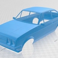 Imprimir en 3D Escort MK2 RS 2000 Printable Body Car, hora80