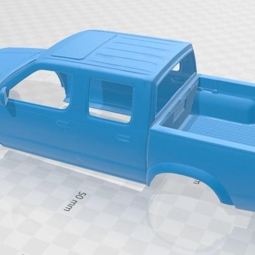 Download 3D Printer Model Nissan Frontier Printable Body