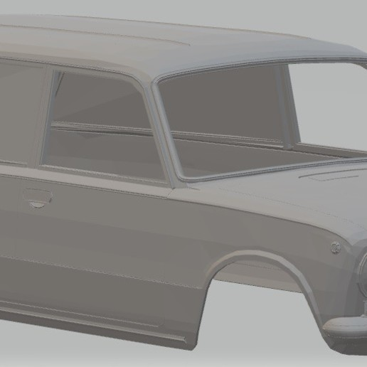 Download 3D printing models VAZ 2801 - Seat 124 Printable Family Body Car, hora80