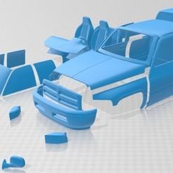 foto 1.jpg Download STL file Ram 1500 ST 1999 Printable Car • 3D print model, hora80